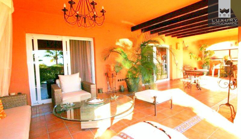 Spectacular 2 Bedroom Garden Apartment located in the prestigious area of Sierra Blanca for Sale