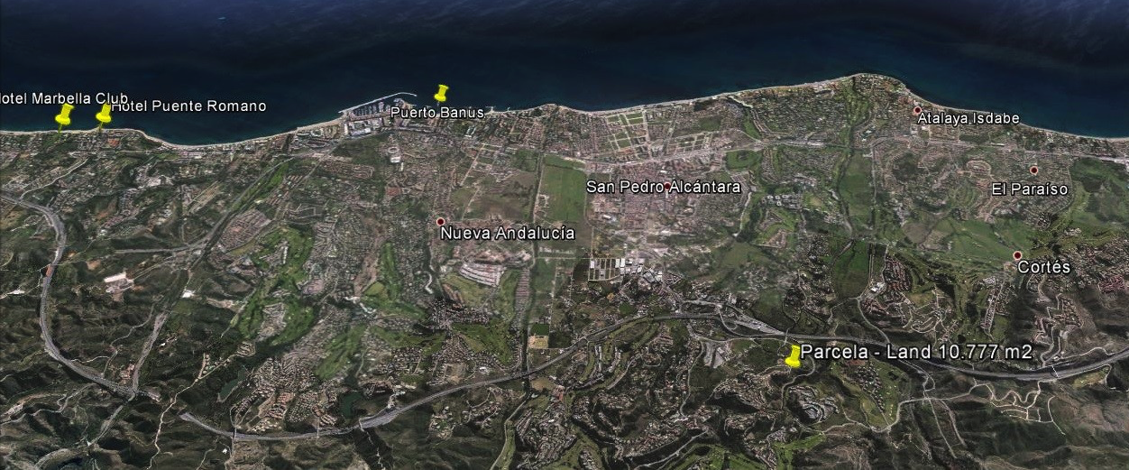 Amazing Plot opportunity  to build 2 Luxury villas in Marbella For Sale