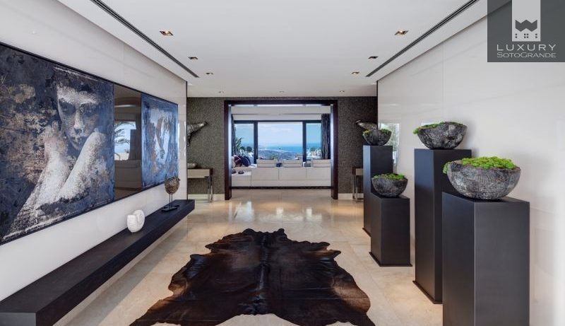 Spectacular, Modern Mansion with Fabulous Views in La Zagaleta, Marbella For Sale