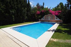 Elegant Beachside Villa in Exclusive Casablanca, Marbella For Sale