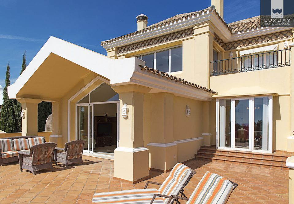 Stunning villa with golf views over La Quinta