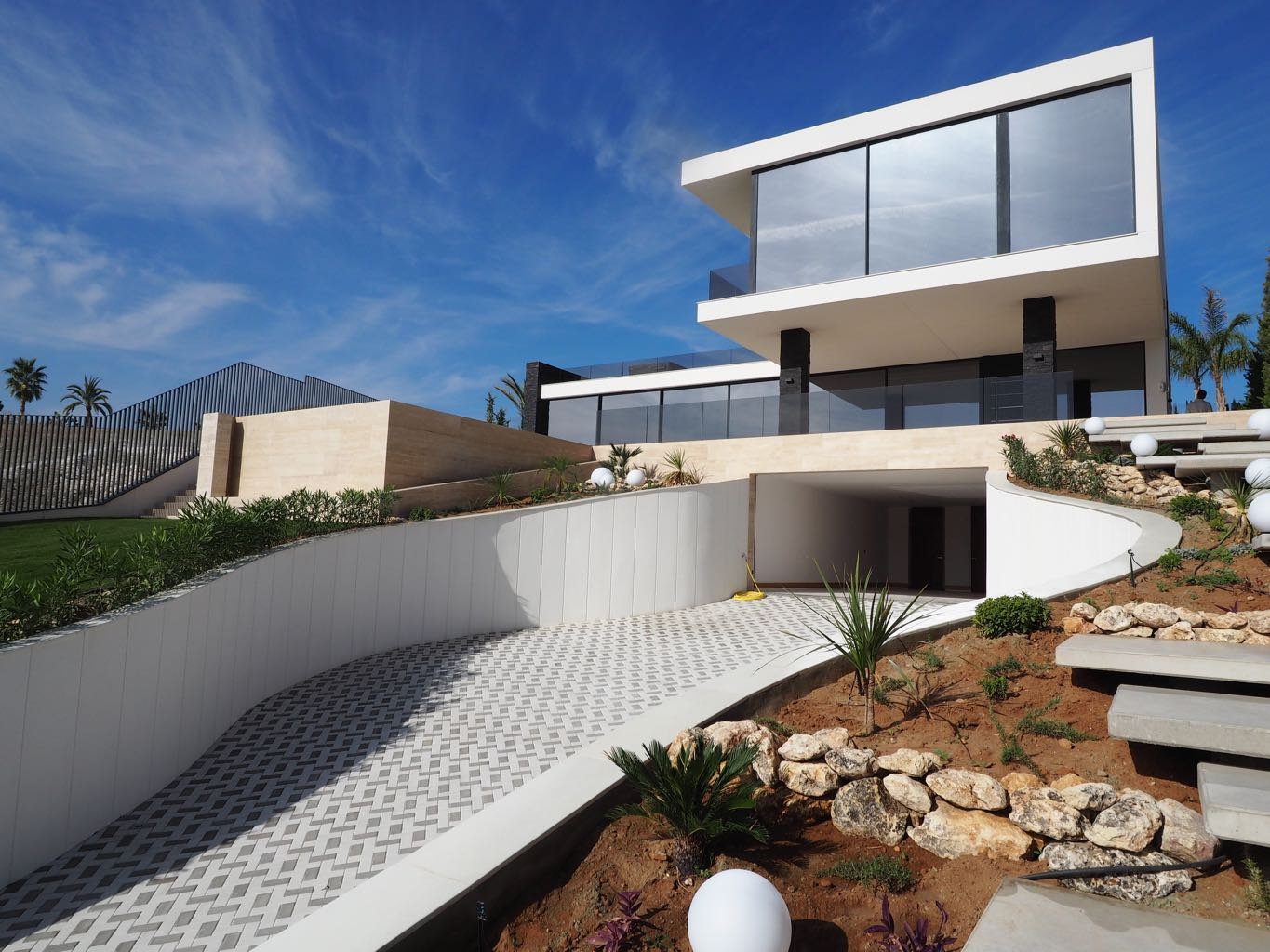 Ultra modern and high specification villa for sale in for Villa ultra moderne