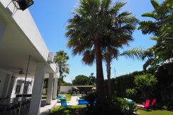 Partially refurbished 8 bedroom Villa in a Great location on the Golden Mile in Marbella for Sale